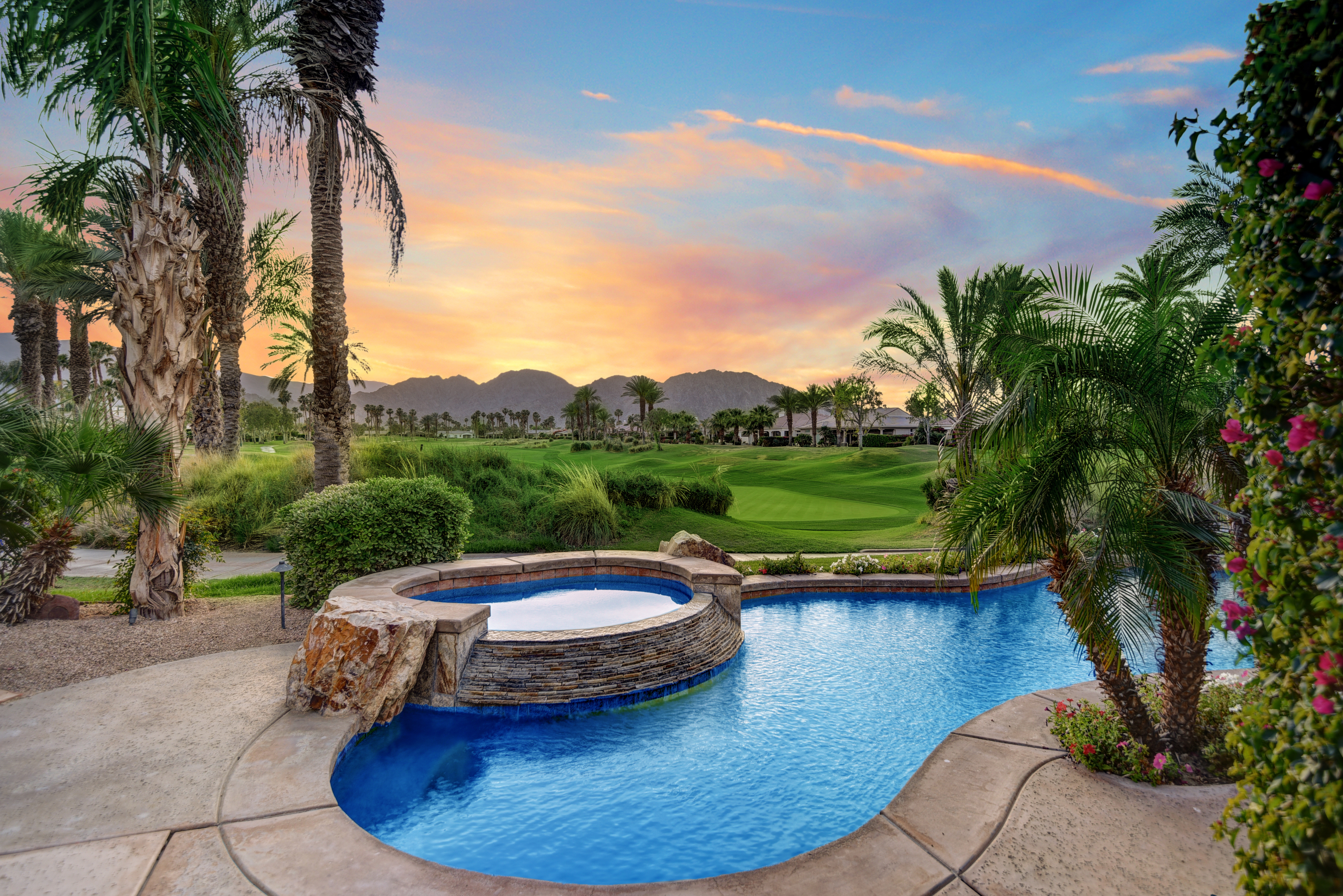Palm Springs Pool Inspection Rental Home
